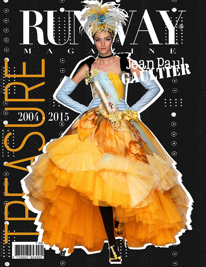 RUNWAY MAGAZINE issue 2019 RUNWAY MAGAZINE cover 2019 Jean Paul GAULTIER