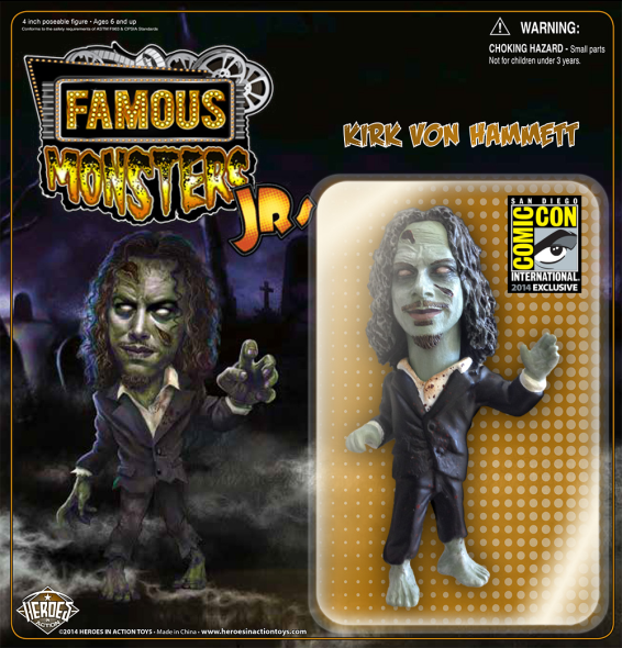 Famous Monsters JR. - Kirk Hammett