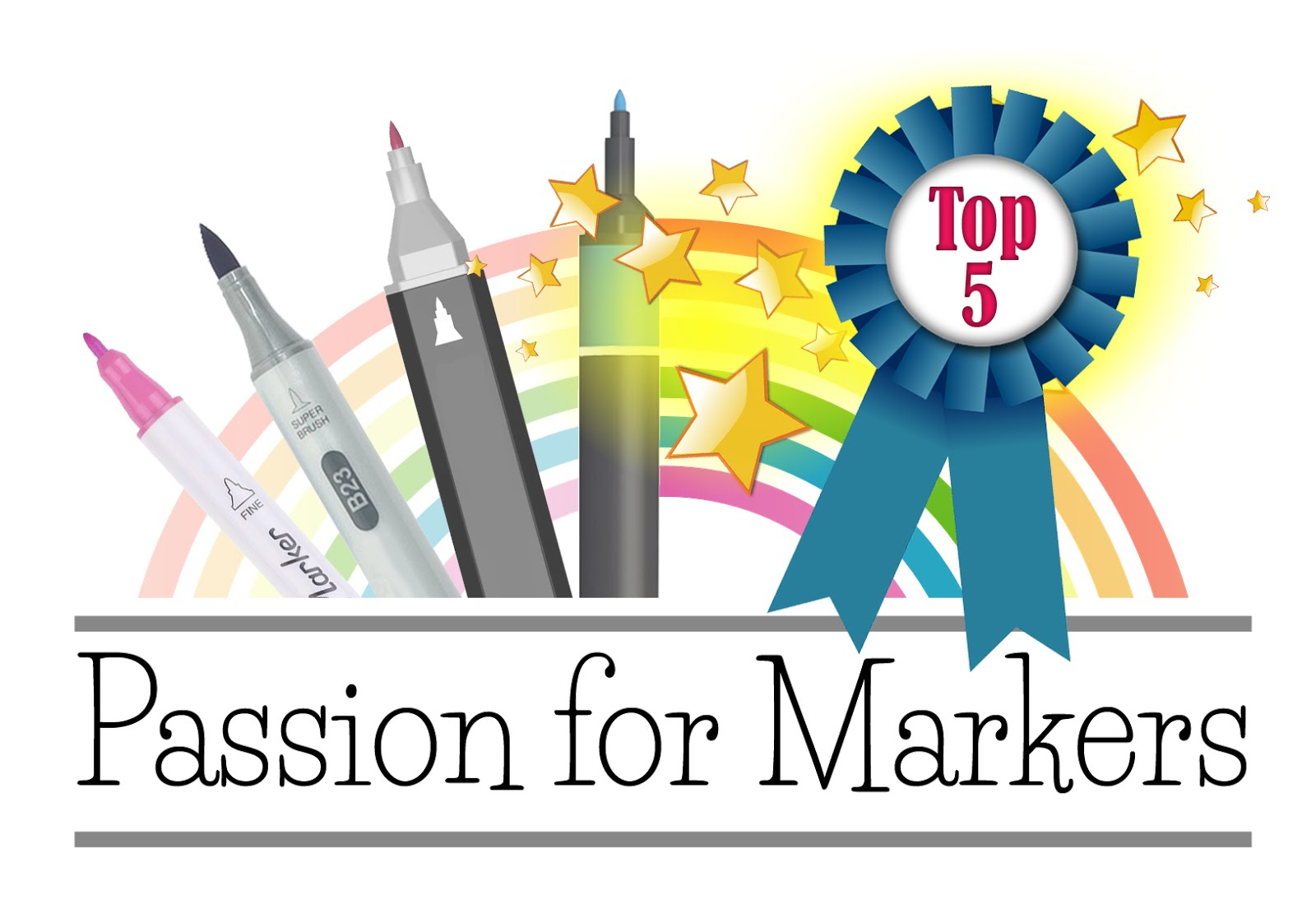 I Won a Top 5 at Passion for Markers