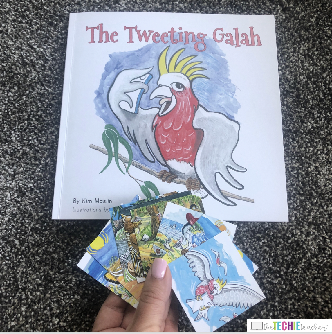 Interactive Children's Books That Address Digital Citizenship Topics: These picture books have augmented reality triggers built into the stories which makes reading an interactive experience! The Tweeting Galah