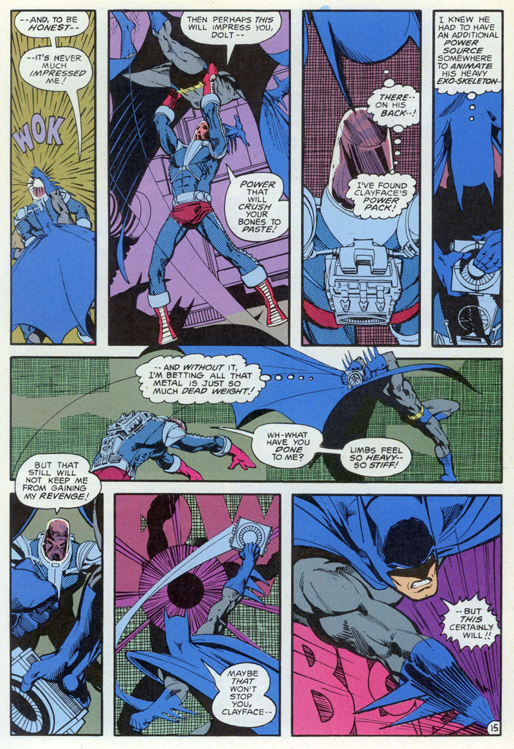 Read online Shadow of the Batman comic -  Issue #5 - 35
