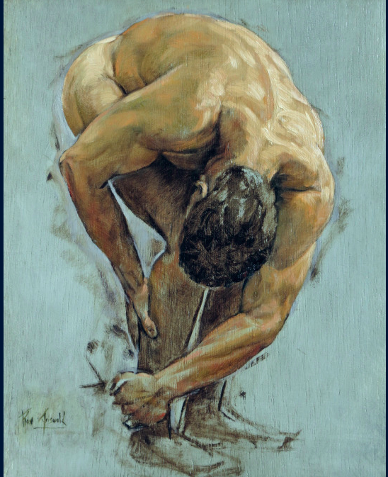 Male Nude Waxing