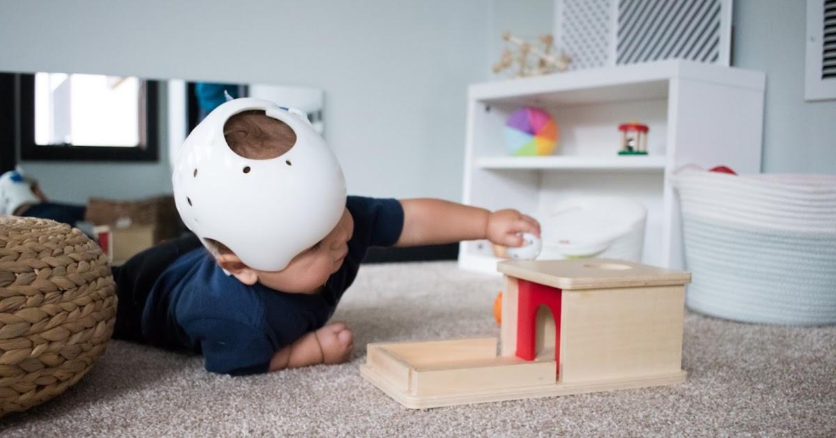 Object Permanence Box Montessori Baby Week 36