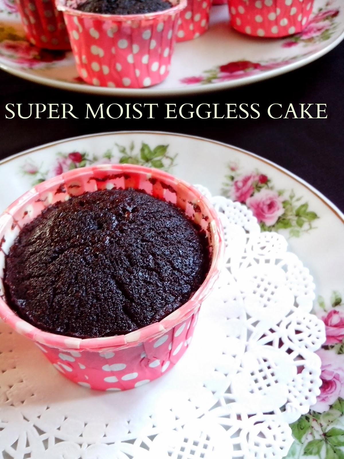 Resepi Kek Coklat Tanpa Telur Yang Sangat Moist Sukatan Cawan