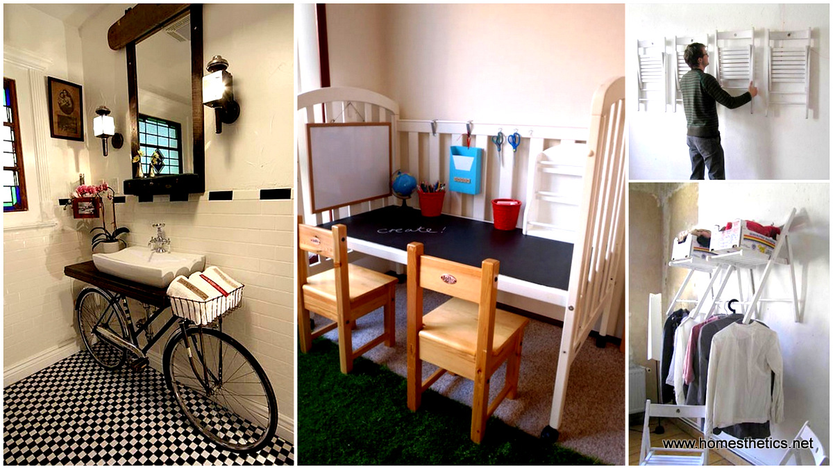 20 Insanely Smart and Creative DIY Furniture Hacks to ...