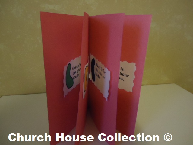 Jelly Bean Prayer Book Craft For Kids For Easter by ChurchHouseCollection.com