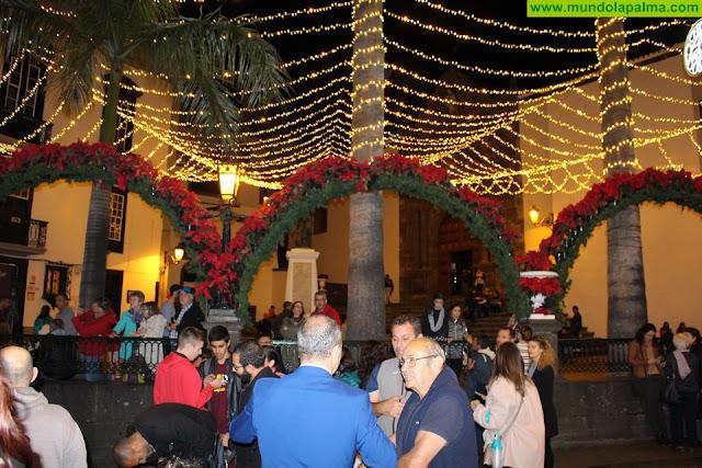 El Ayuntamiento de Santa Cruz de La Palma valora positivamente la acogida de los diferentes actos de Navidad