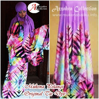 Gambar Mukena Pelangi Azzahra Collection