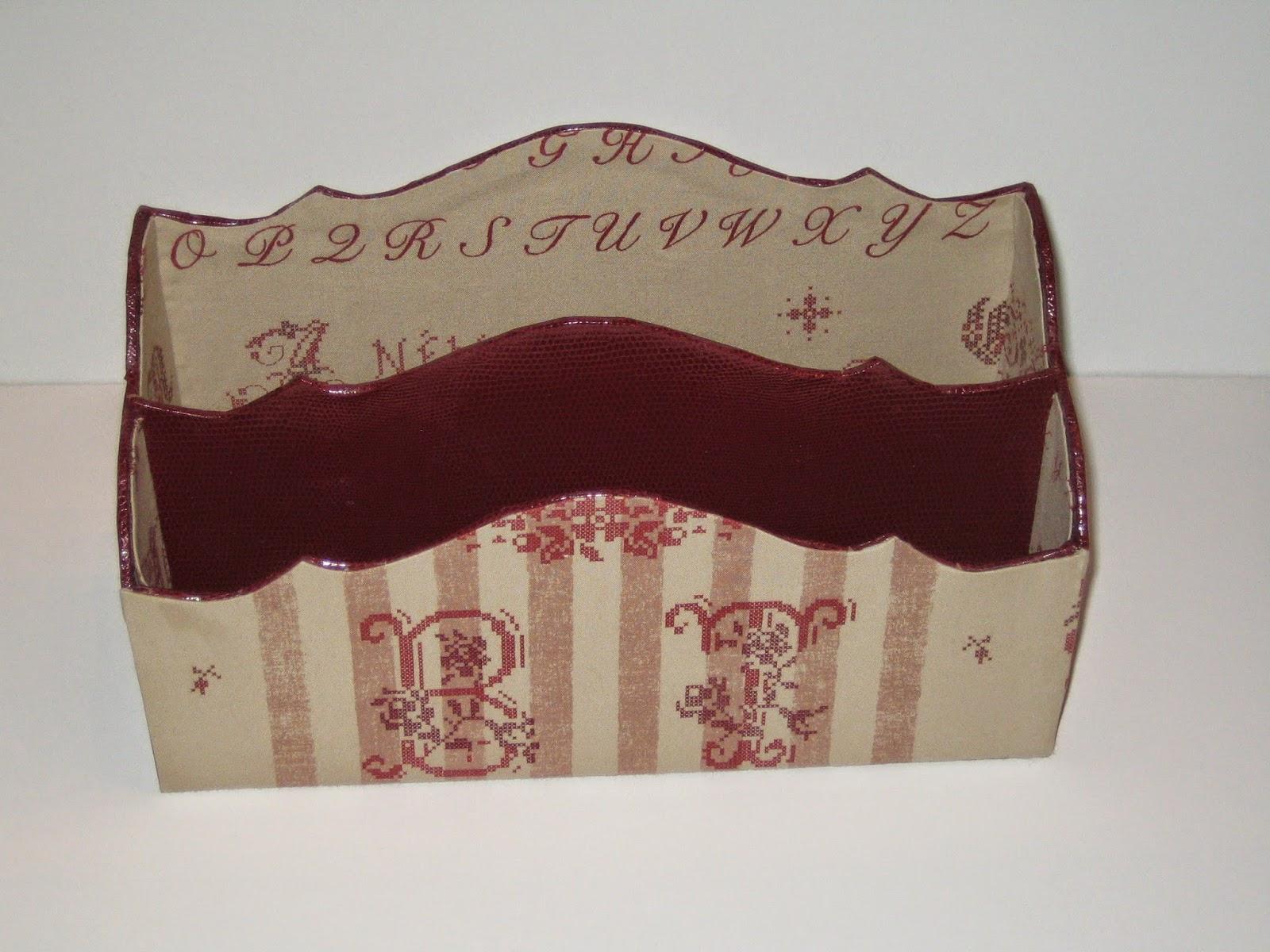 Cartonnage passion ecritoire et porte courrier - Porte courrier ...