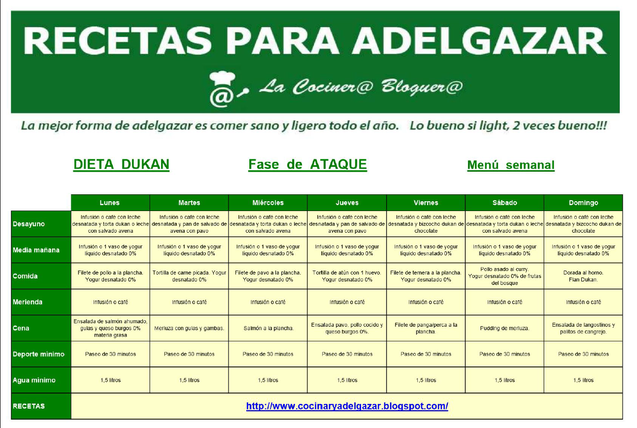 menu semanal para adelgazar colombiana