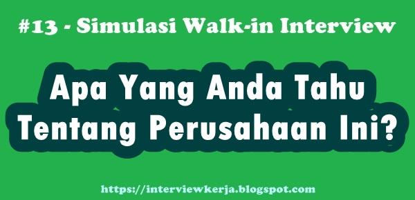 13 jawaban wawancara kerja pertanyaan interview