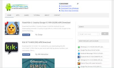 5+ Situs Download APK Android Terbaik dan Terpopuler 5