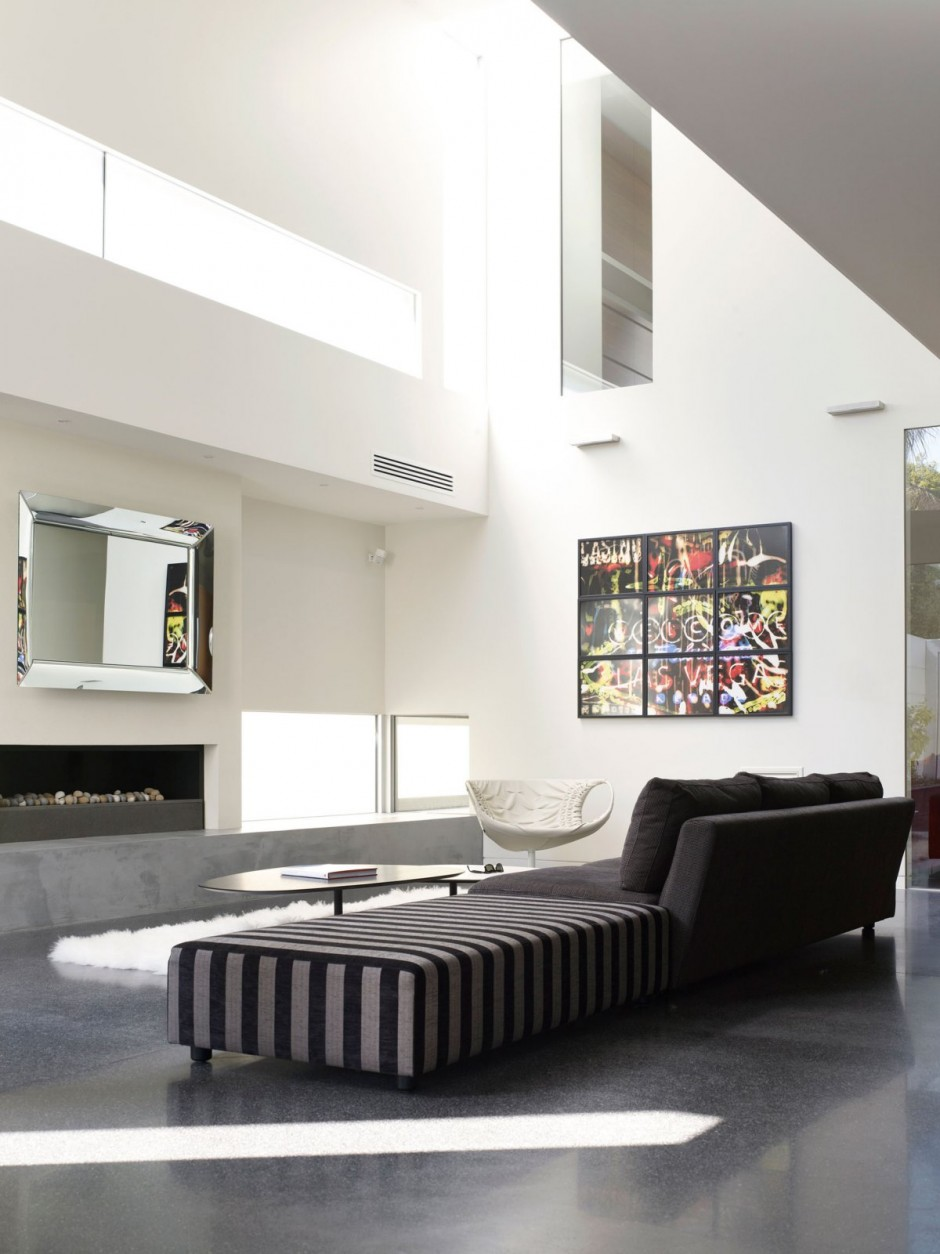 Casa minimalista en melbourne de steve domoney for Imagenes de interiores de casas minimalistas