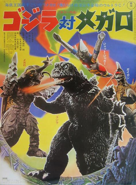 Pósters películas Kaiju
