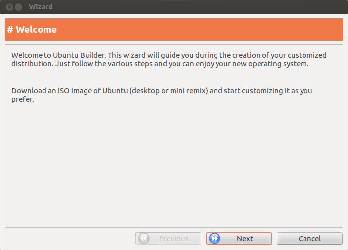 Ubuntu Builder Updated with Improved Interface, Wizard Feature and