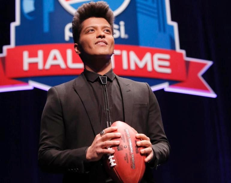 Watch Bruno Mars Super Bowl 2014 Halftime Show