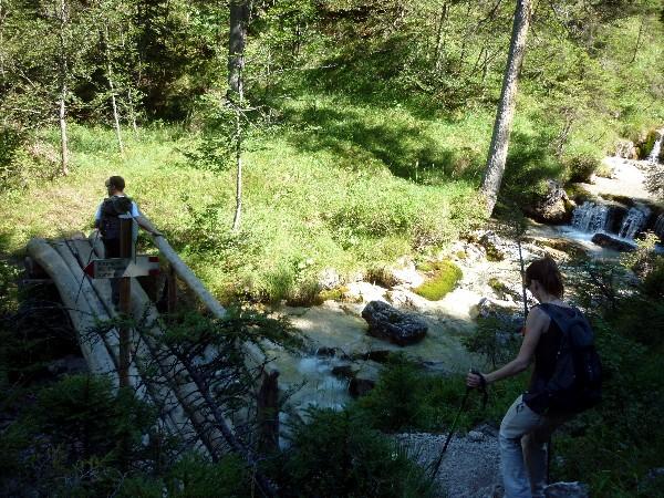 come arrivare al rifugio padova a domegge di cadore