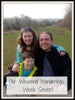 Family photo with title text overlayed