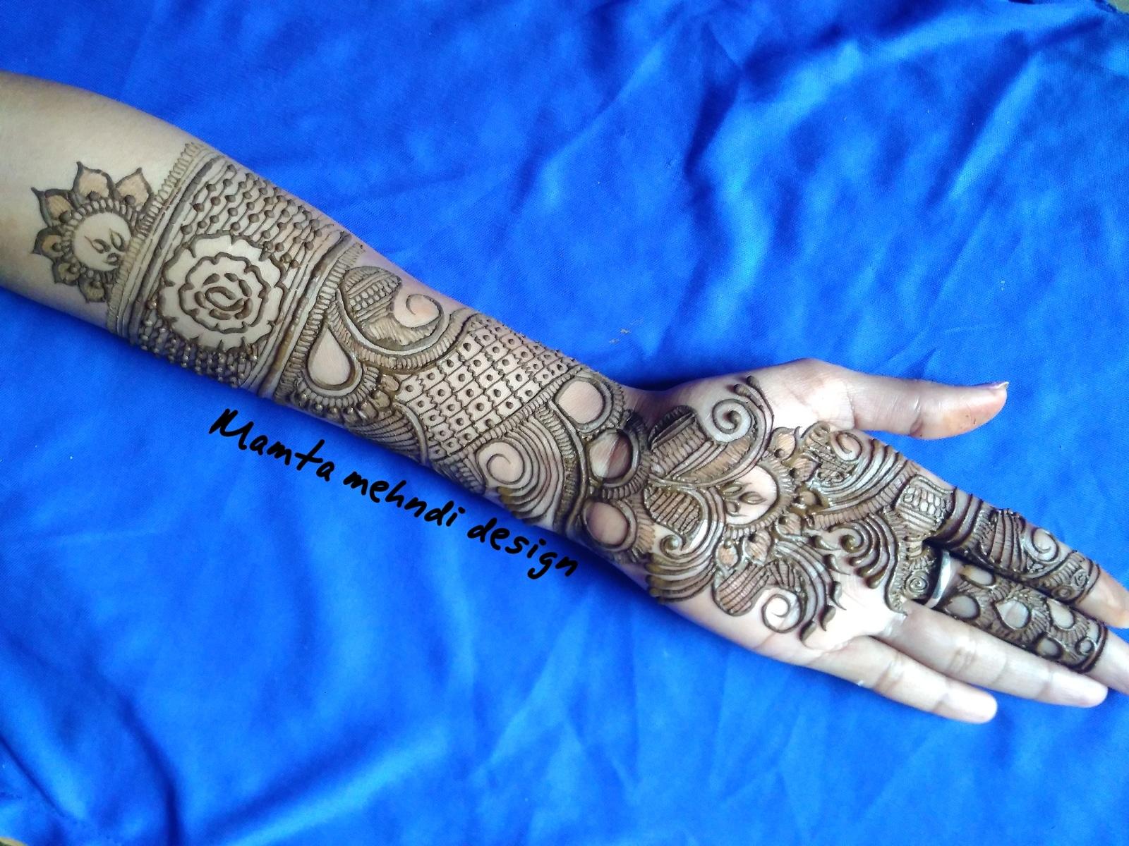 mehndi design for function full hands