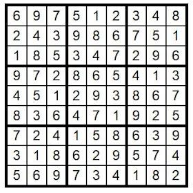 answerkey sudoku puzzle #26 @BionicBasil®