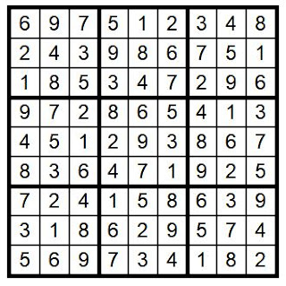 answerkey sudoku puzzle #26 @BionicBasil®
