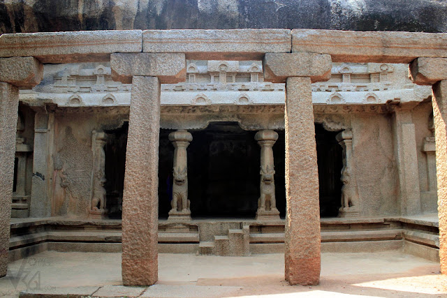 Ramanuja Mantapa, originally a shiva cave temple