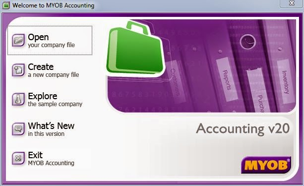 Dummies Guide to MYOB  GST MYOB Setup - Create new company file