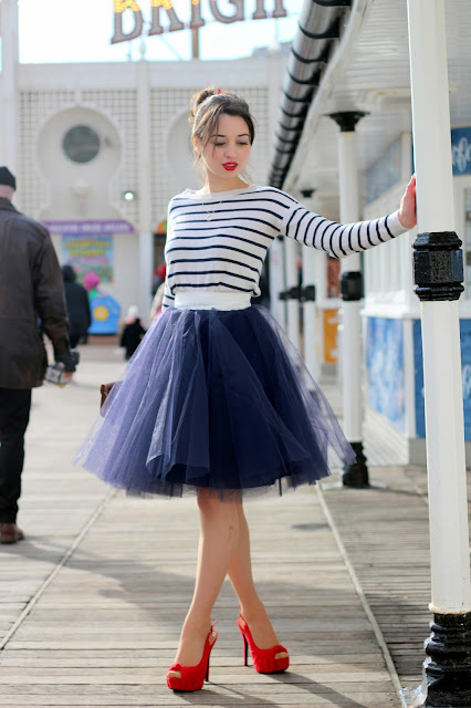 Nautical princess look