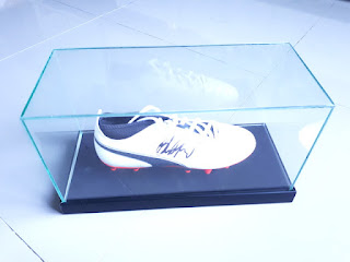 Sepatu Bola Puma Tanda Tangan Marcus Rashford New Original Sertifikat MRF001