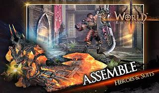 Game The World 3: Rise of Demon Apk Obb Full Data Terbaru