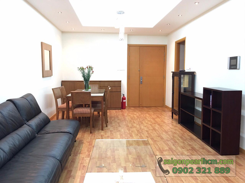 căn hộ cho thuê Saigon Pearl Ruby 2 tầng cao giá thuê cực tốt