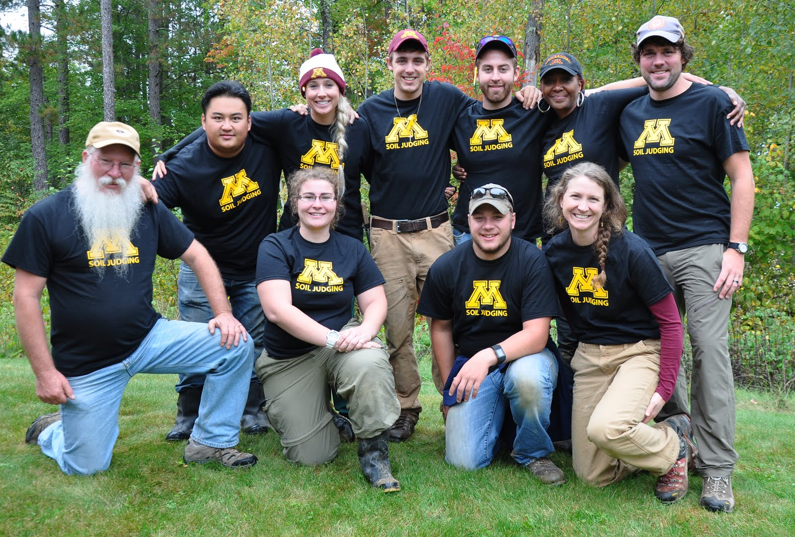 2015 University of Minnesota Soil Judging Team