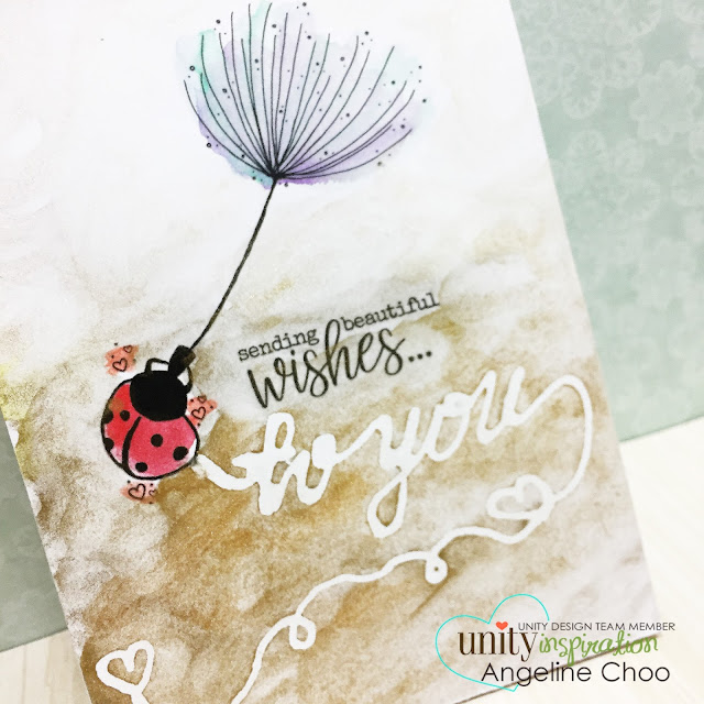 ScrappyScrappy: [NEW VIDEOS] Watercolor Frenzy with Unity Stamp #scrappyscrappy #unitystampco #card #cardmaking #watercolor #gansaitambi #starrycolors #primamarketing #christineadolph #watercolorresistpen #doodle #video #youtube #quicktipvideo #ladybug
