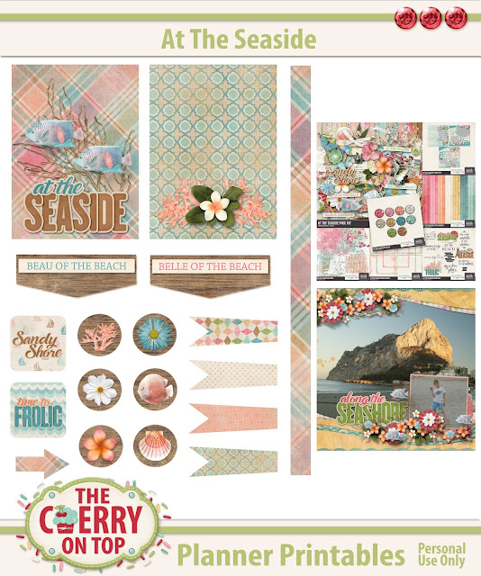 At The Sea Side Free Planner Printables