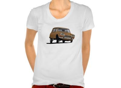 Citroën Ami 8 t-paita t-skjorta