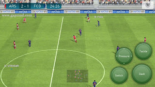 Download Pro Evolution Soccer PES 2017 v1.0.0 Apk [Update Controller]
