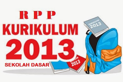 Download RPP Kelas 1 SD Kurikulum 2013 Semester 1
