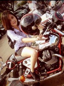 Foto Ananda Welda Merisasari Komunitas Ninja Kawasaki