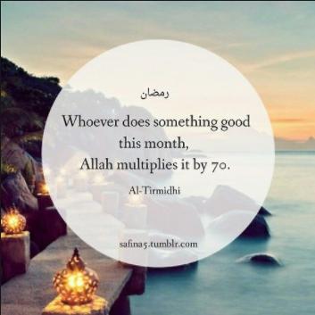 Ramadan Hadith Tumblr