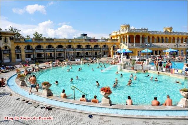 Las aguas termales Széchenyi son los mayores baños termales medicinales de Europa
