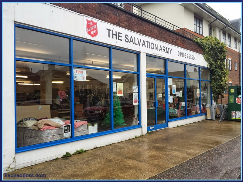 #MyCharityChallenge with Salvation Army