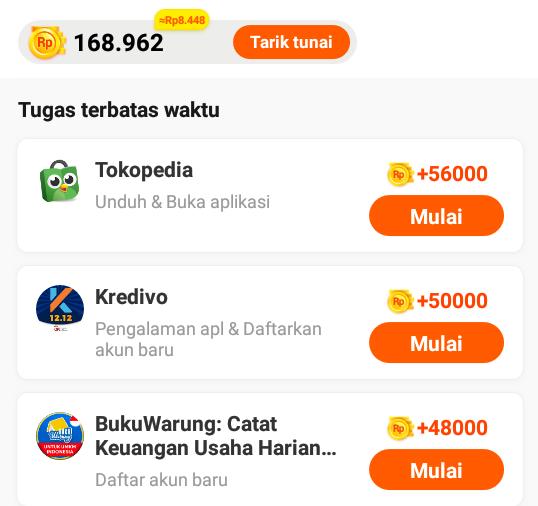 Cara Menghasilkan Uang dari Unduh Aplikasi Di Play Play Game Apk Penghasil Uang Terbaru
