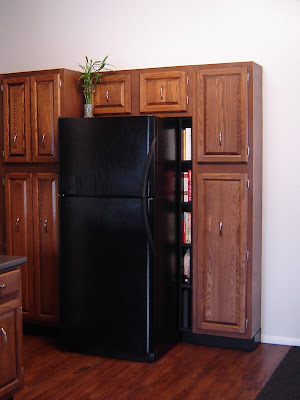Custom Refrigerator Shelf