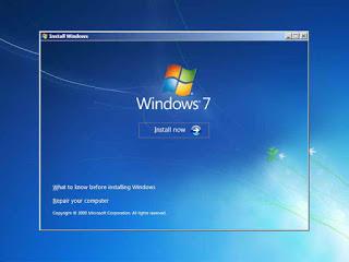 gambar 3 cara instal windows 7 dengan cd
