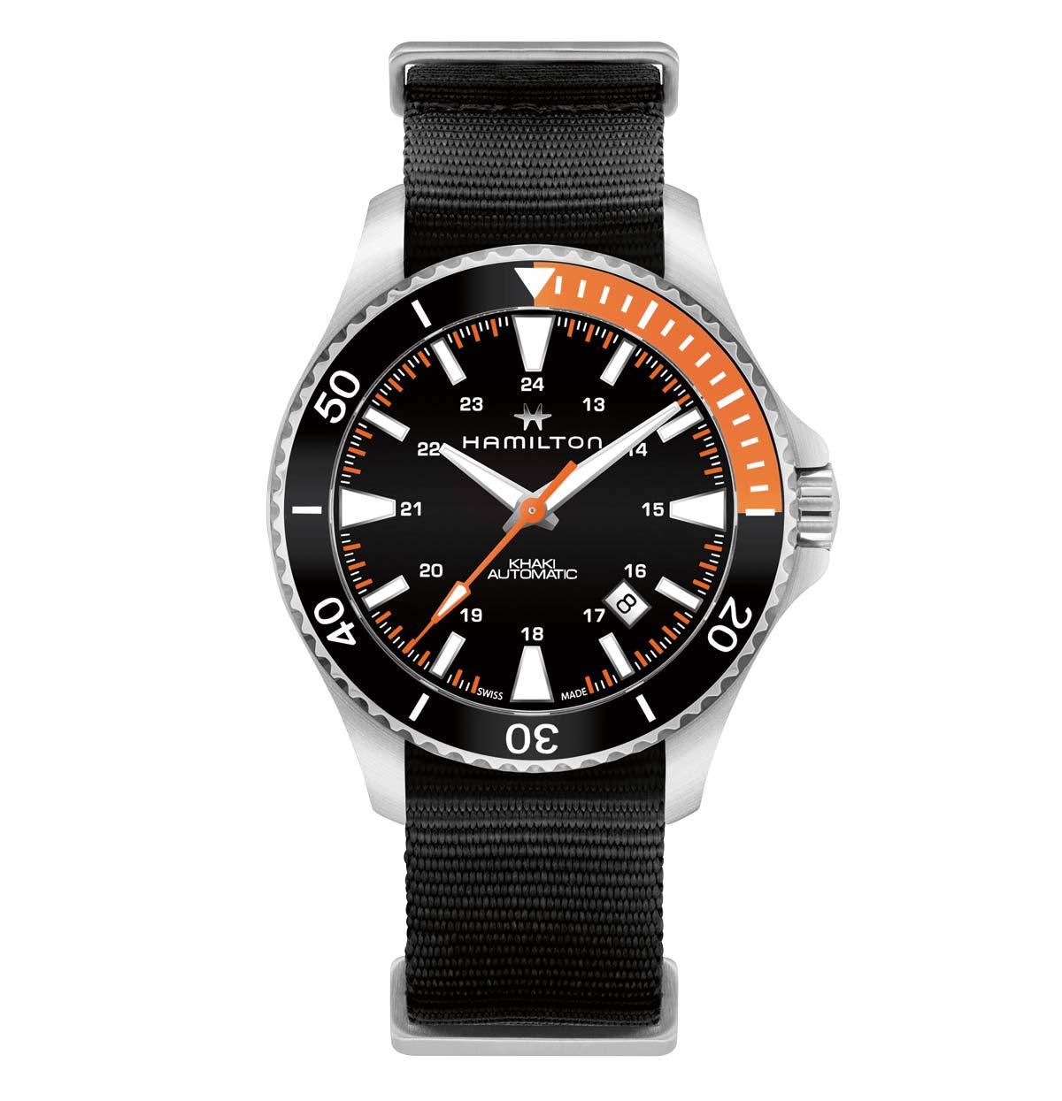Hamilton Khaki Navy Scuba Time And Watches