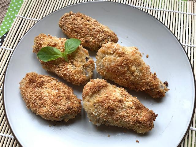 alitas de pollo a la parmesana receta