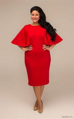 Vestidos Rojos para Gorditas
