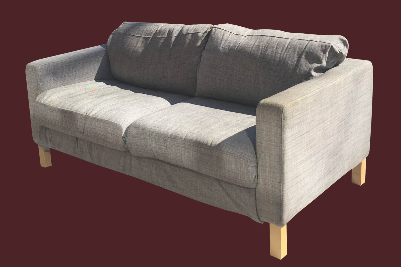 Uhuru furniture collectibles ikea loveseat 175 sold for Furniture that can be disassembled