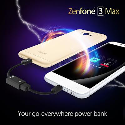 ZenFone 3 Max Smartphone