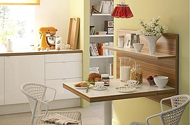 Cozinhas pequenas charme e simplicidade amando cozinhar for Revelar fotos baratas